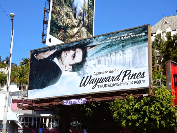 Wayward Pines season 1 billboard
