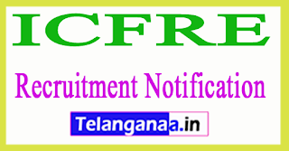 Indian Council of Forestry Research and Education ICFRE Recruitment Notification 2017