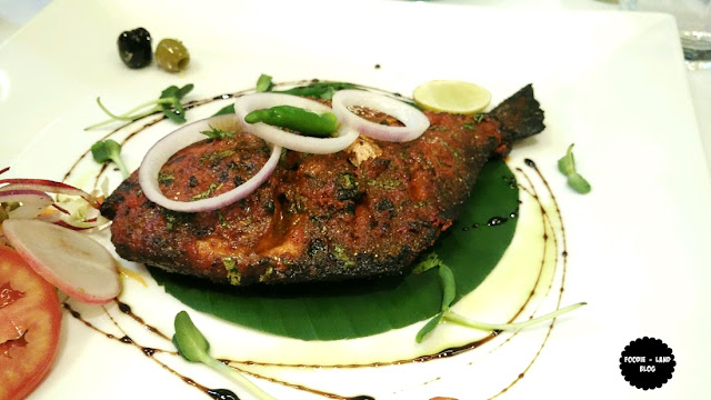 Tandoori Grilled Pomfret@ Salt-Indian Restaurant Bar & Grill | Koramangala| Bangalore