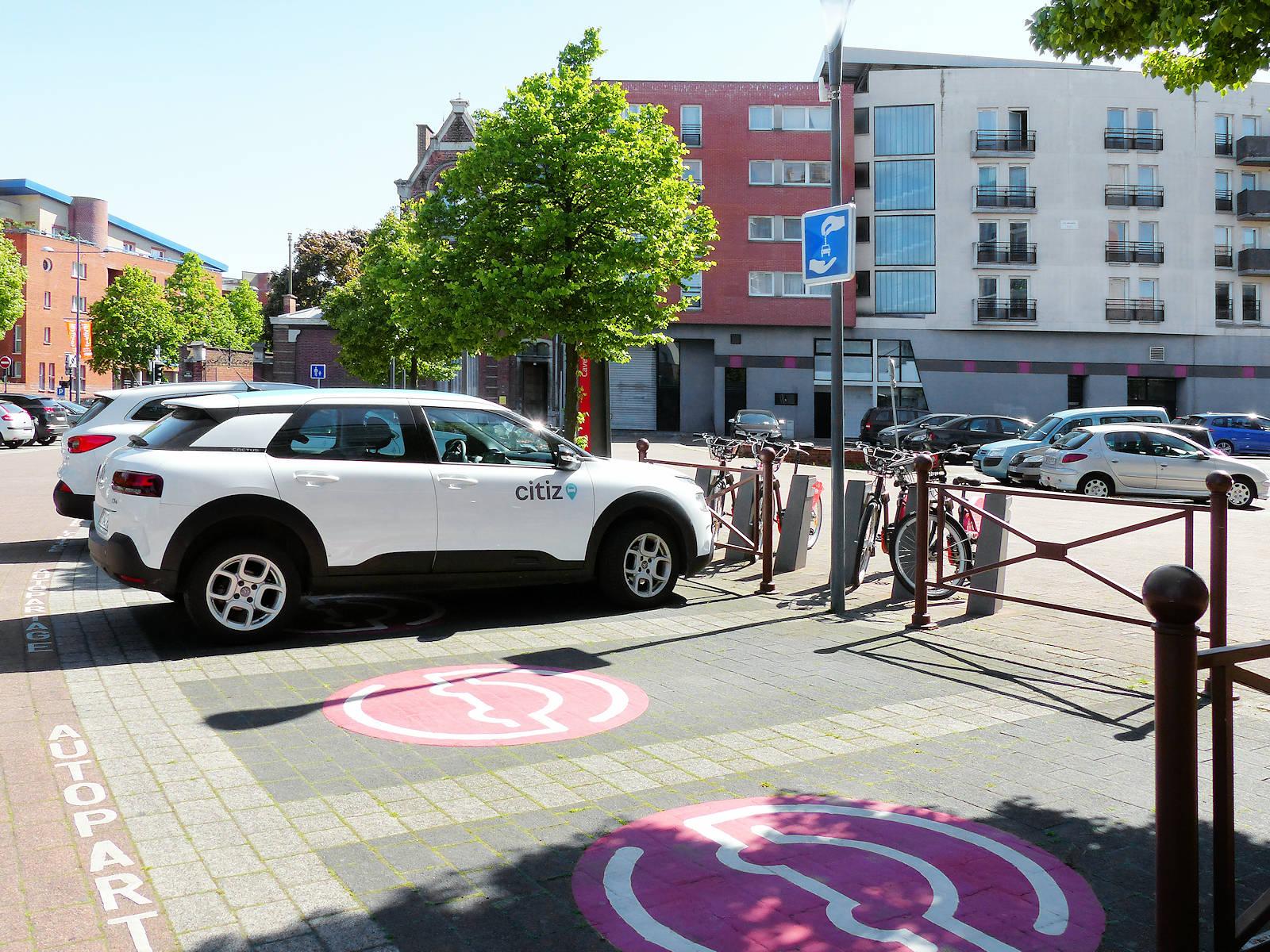 Autopartage Citiz Cavell - Tourcoing Centre