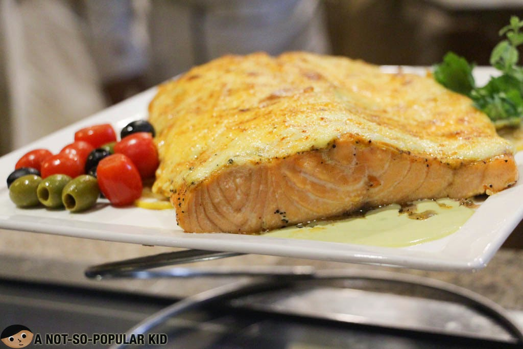 Creamy Baked Salmon by Chef Chubby Timban