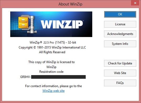 WinZip PRO 22.5 Serial Key Crack License Activation Registration Keygen Patch