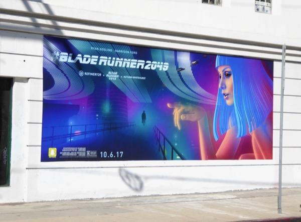 Blade Runner 2049 movie wall mural