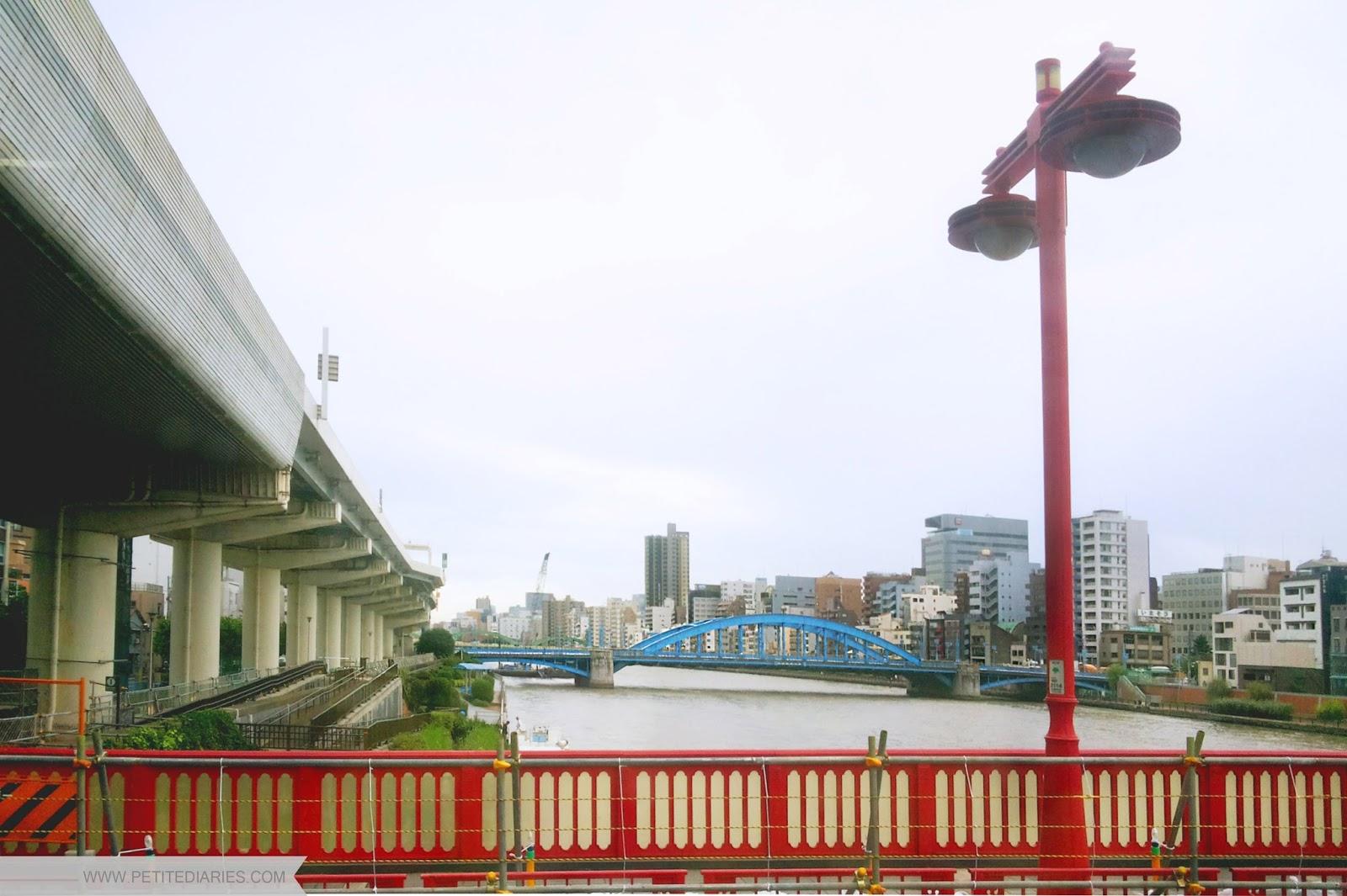 tokyo river travel