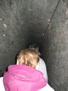 The tunnels sure got narrow