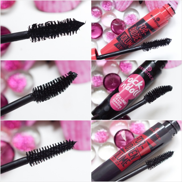 Mascara essence forbidden volume