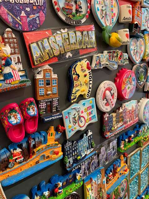 Amsterdam tourist gifts of fridge magnets
