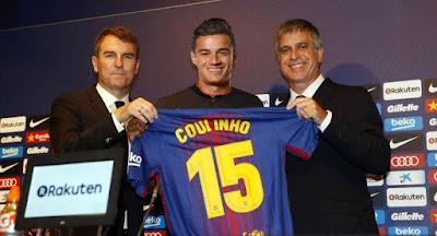 Coutinho Resmi Ke Barcelona