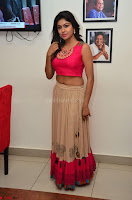 Akshita super cute Pink Choli at south indian thalis and filmy breakfast in Filmy Junction inaguration by Gopichand ~  Exclusive 013.JPG