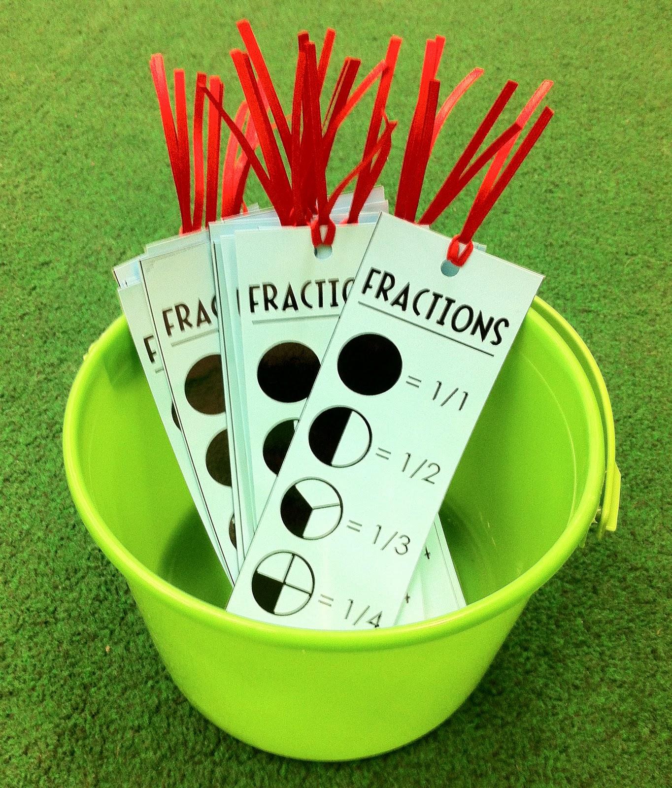 The Teacher Wife Fraction Fun