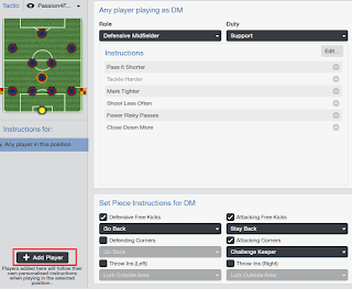 Add Football Manager Player Instructions to positions
