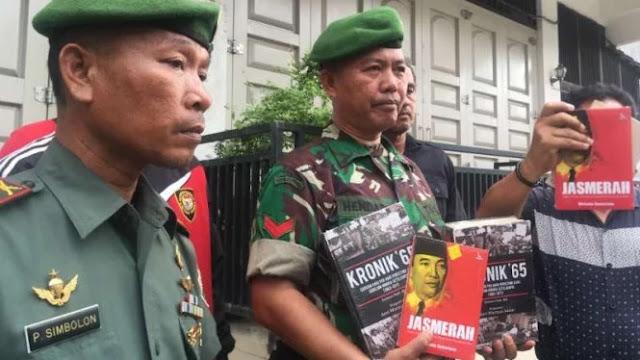 Aparat Sita Buku Diduga Berpaham Komunis, Gramedia Juga akan Dirazia
