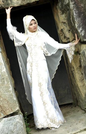 Jelek Bawel Baju Pengantin Muslim