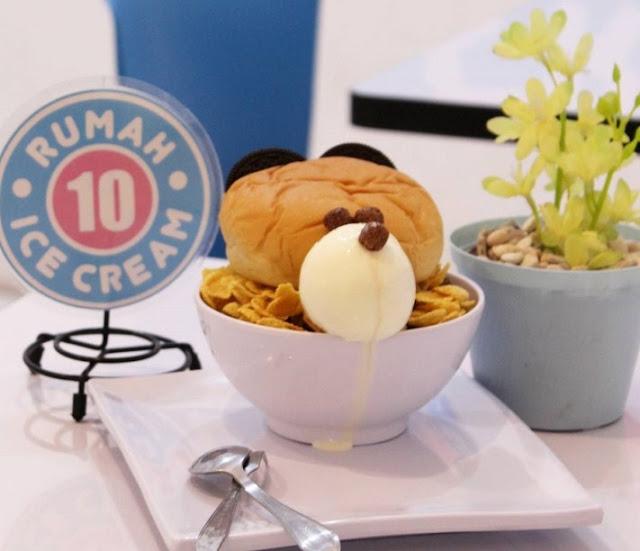 Bubu Nikmat di Rumah Ice Cream