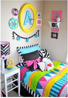 cómo agregar detalles coloridos al cuarto dormitorio habitaciòn