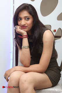 Actress Anusha Latest Picture Gallery in Black Short Dress  0006