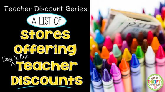 No Fuss Teacher Discounts