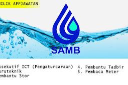Jawatan Kosong di Syarikat Air Melaka Berhad (SAMB) tahun 2019