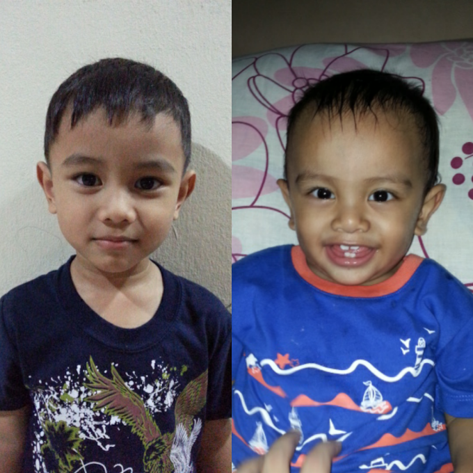 WW55 :: Rambut Raya Abang & Adik