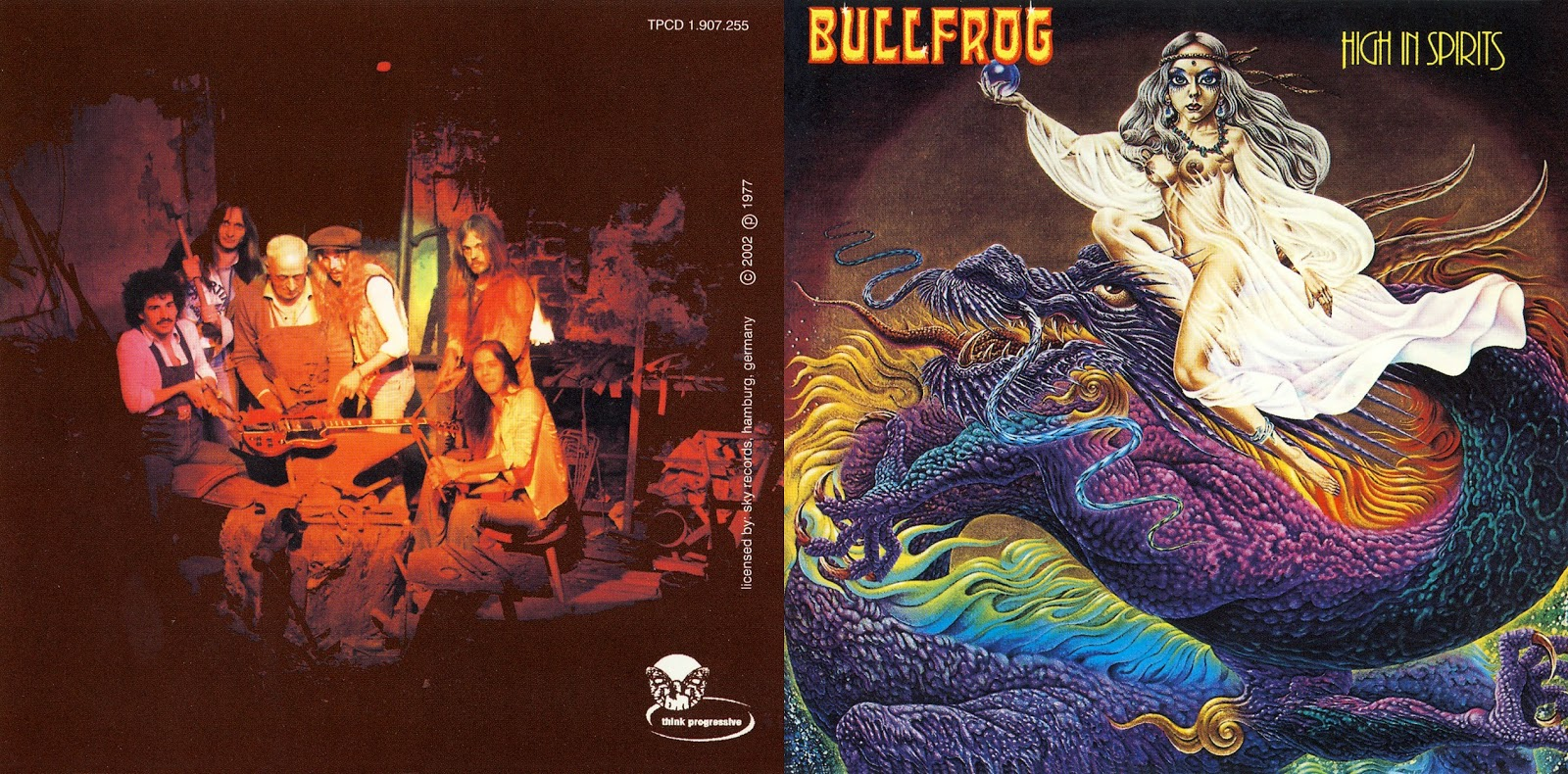 Bullfrog - High In Spirits (1977)