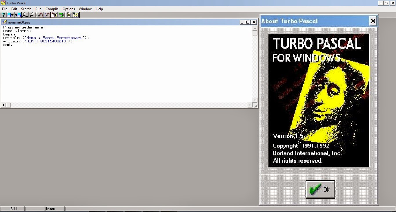 turbo pascal 1.5 tpw