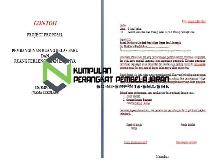 Contoh Proposal Pengajuan Ruang Kelas Baru (RKB) Format Word