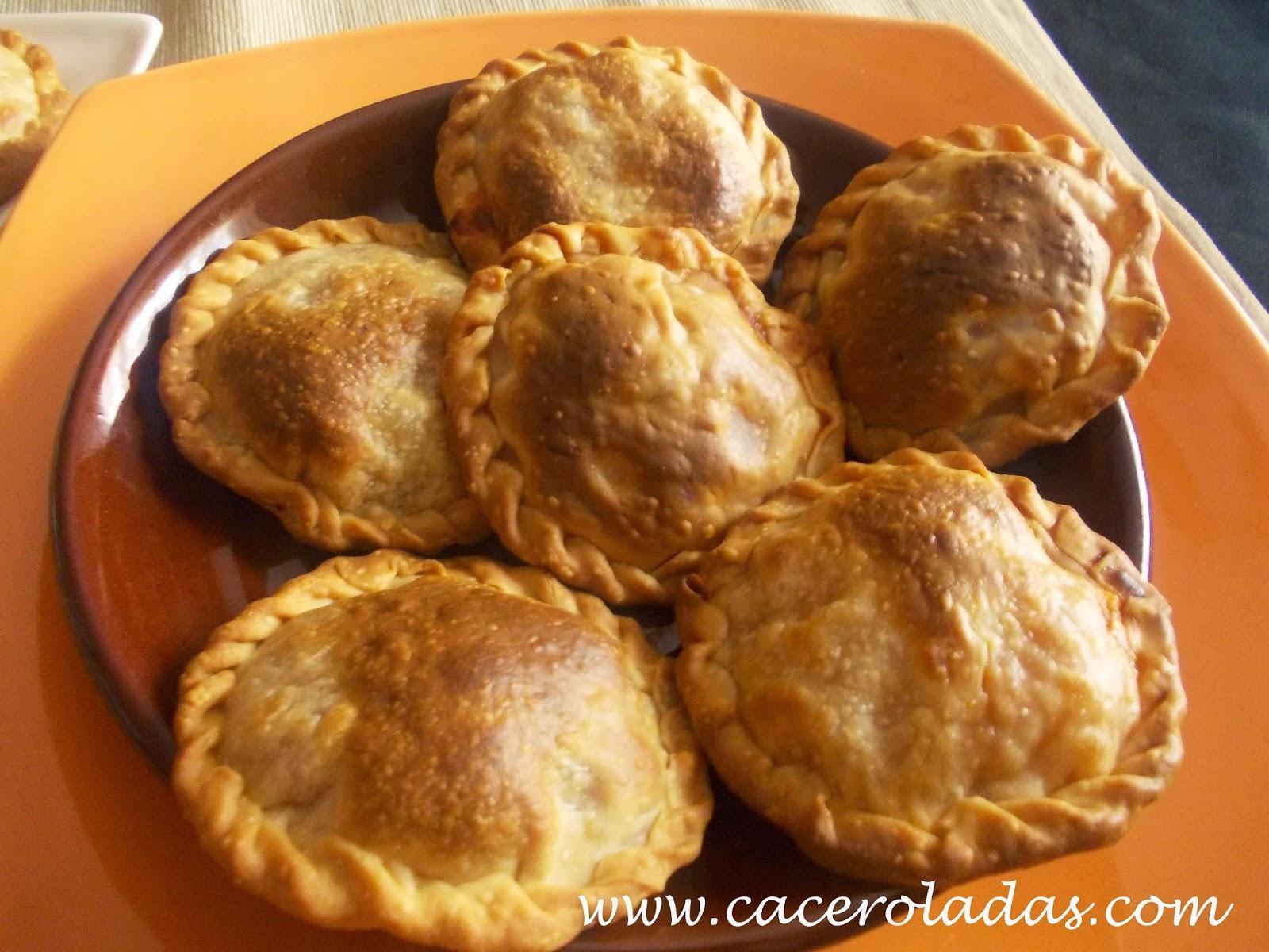 Empanadillas caseras de pisto Manchego (al horno)