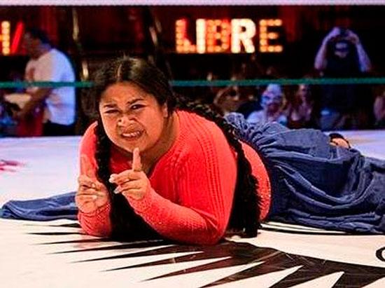 Cholitas luchadoras de Bolivia se presentarán en Calama Chile