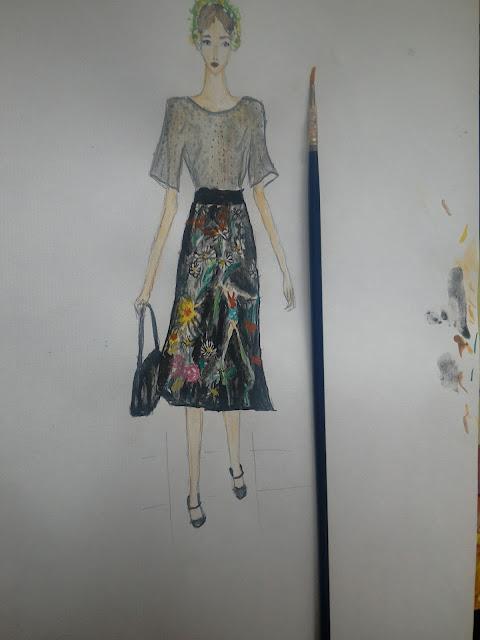 #dolceandgabbana #fashionillustration