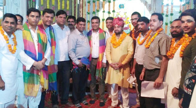 Anuj Sharma elected unanimously President of Marwari Youth Forum Ballabhgarh Branch
