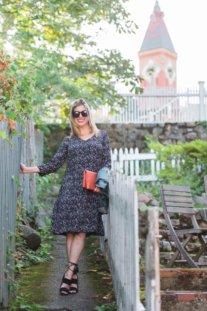Garnet Hill floral dress