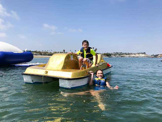 Pedalboats in Newport Beach