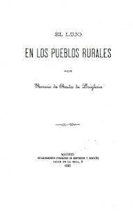 Imagen de la portada de El lujo en los pueblos rurales