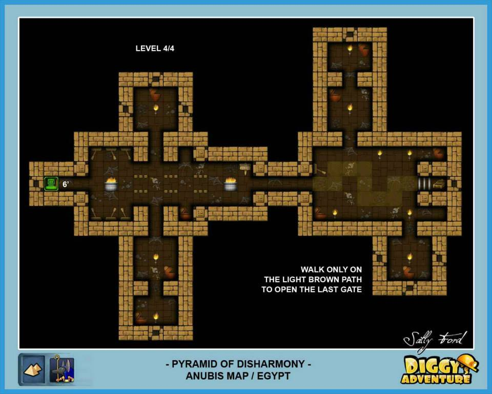 Diggy's Adventure Walkthrough: Anubis Egypt Quests / Pyramid of Disharmony