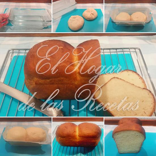 Pan de molde sencillo