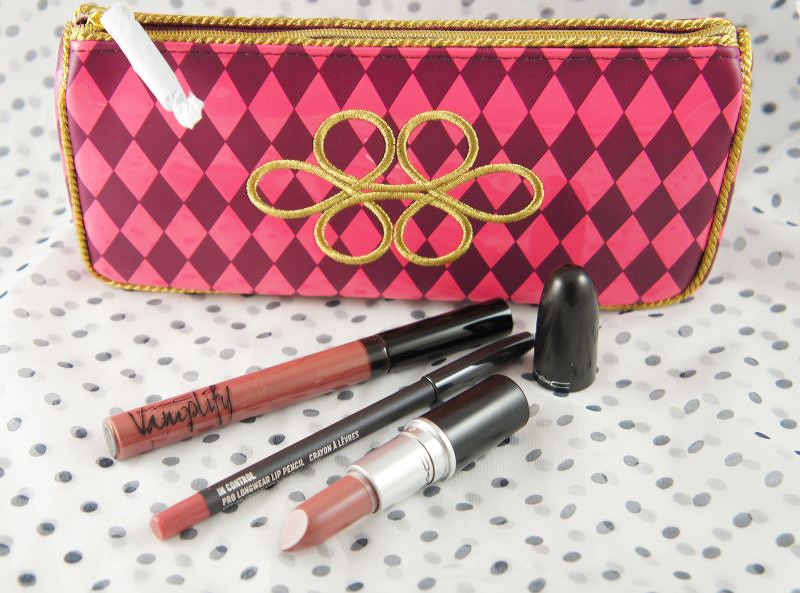 M·A·C Nutcracker Sweet Nude Lip Bag