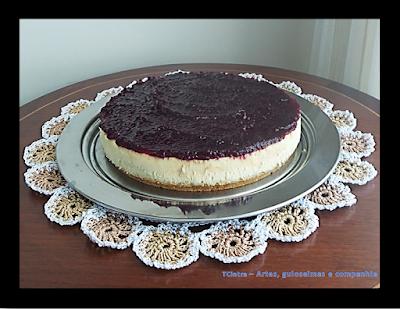 GELEIA DE UVA; bolo de queijo; CHEESECAKE; CREAM CHEESE; BOLO TIPO TORTA; SOBREMESA AMERICANA