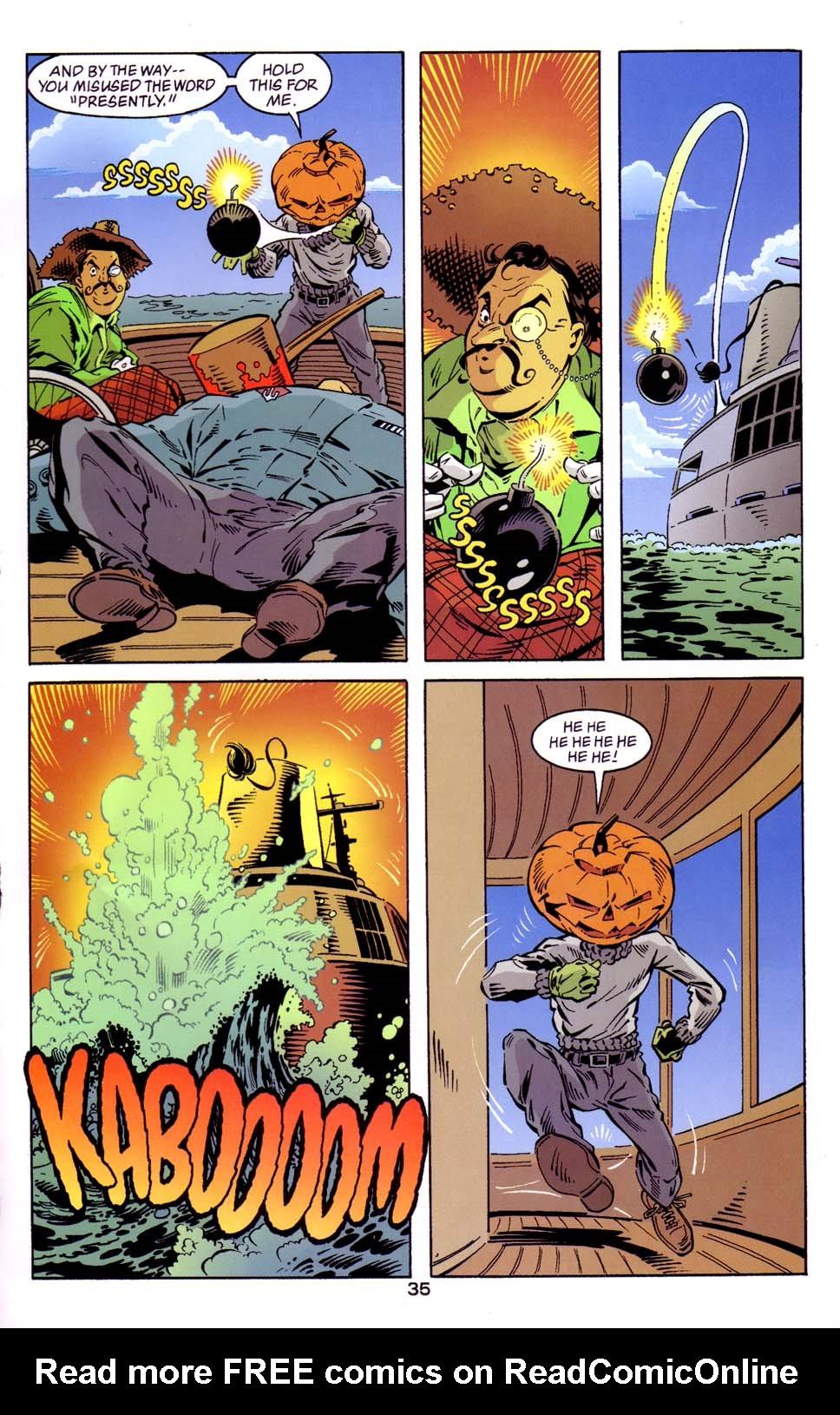 Read online Merv Pumpkinhead, Agent of D.R.E.A.M. comic -  Issue # Full - 36