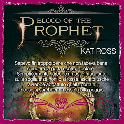 recensione Blood of the Prophet di kat ross