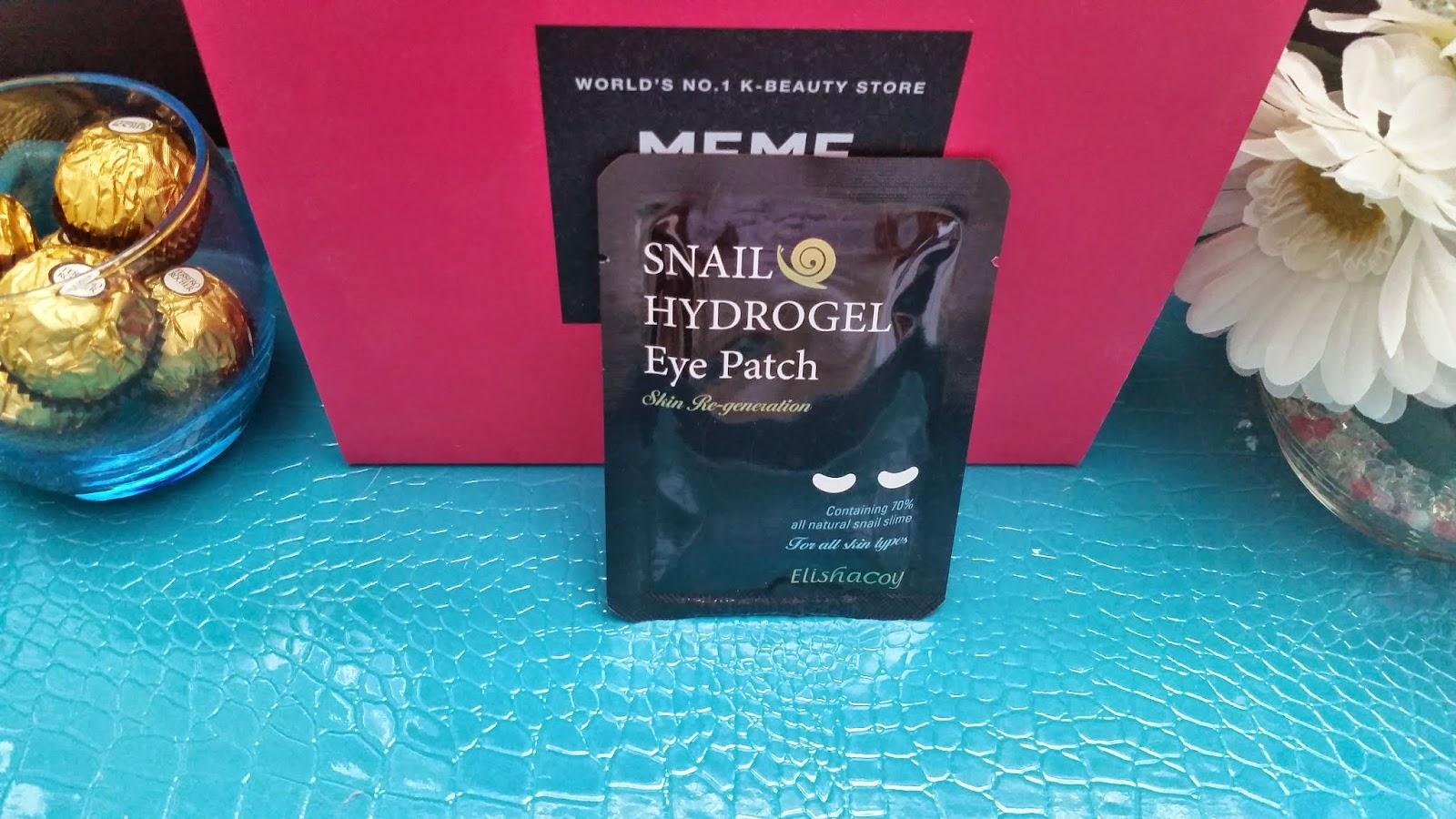 Elisha Coy Snail Hydro Gel Eye Patch