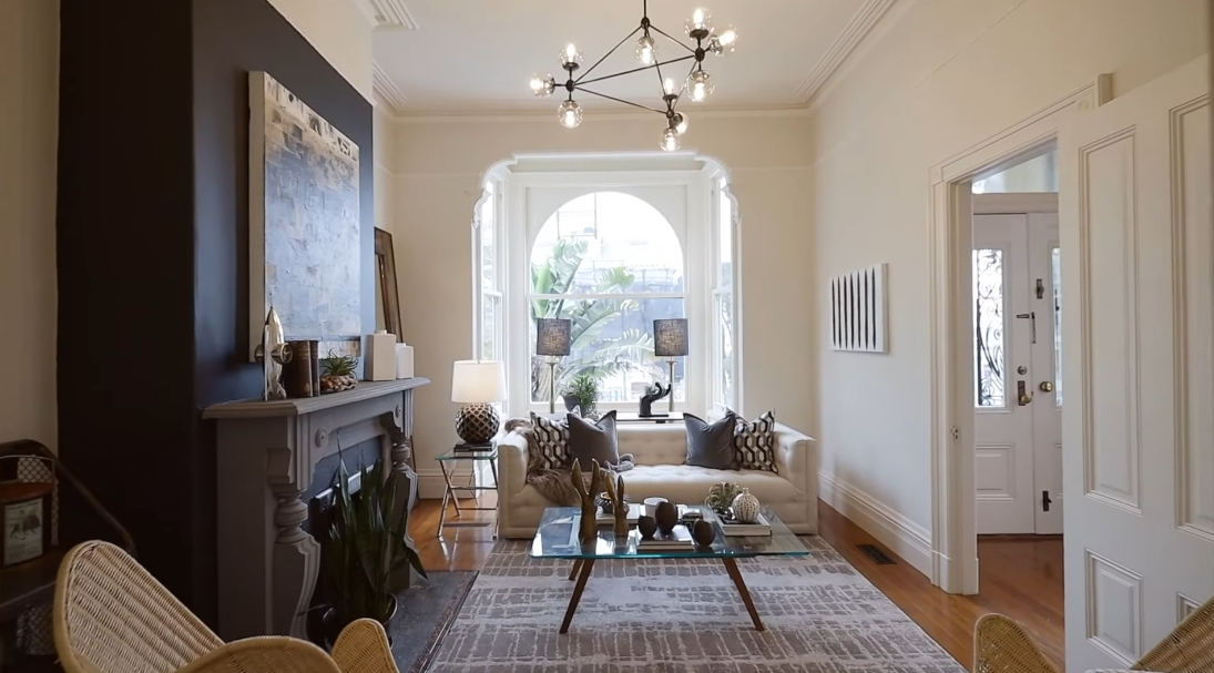 27 Interior Design Photos vs. 957 Grove St, San Francisco Luxury Townhouse Tour