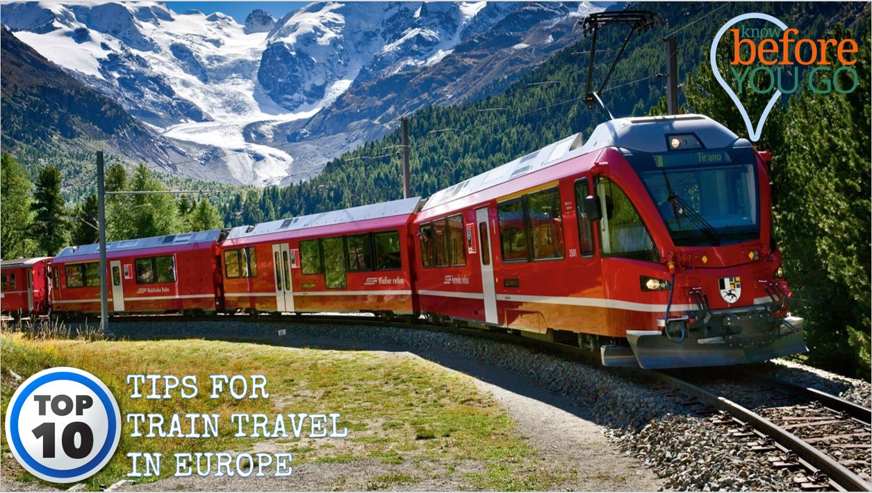 Top 10 Essential Tips For Train Travel In Europe Trips And Books