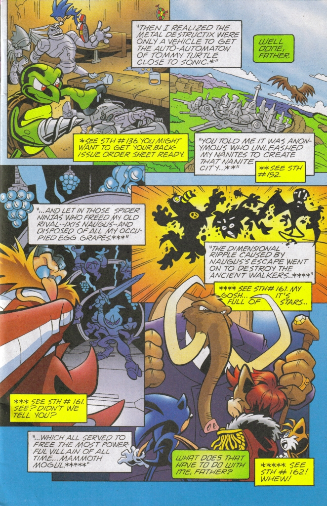 Read online Sonic The Hedgehog comic -  Issue #168 - 5