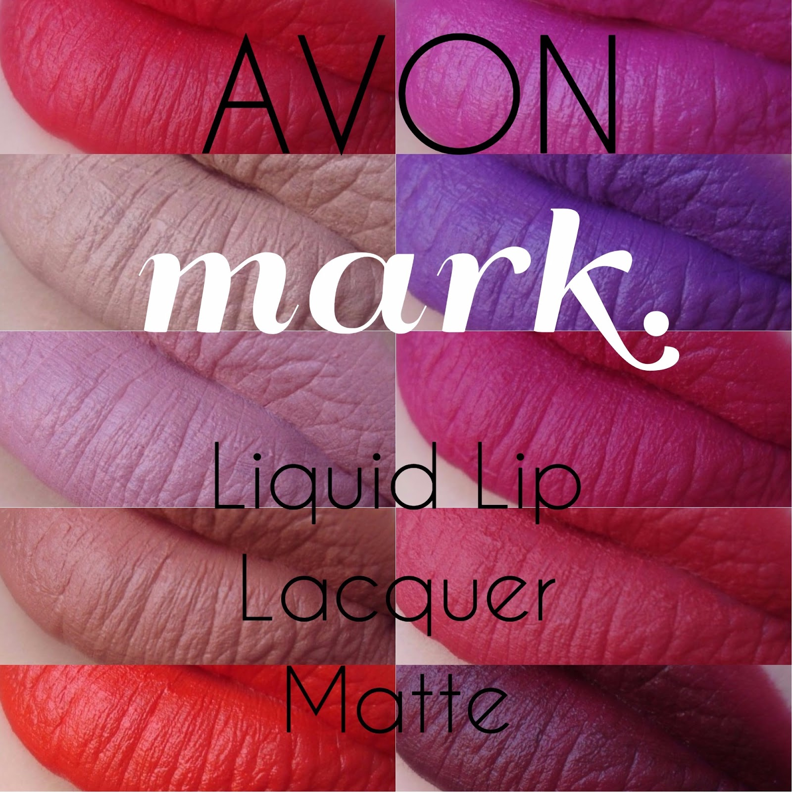 Mela E Cannella Avon Mark Liquid Lip Lacquer Matte Irresistible