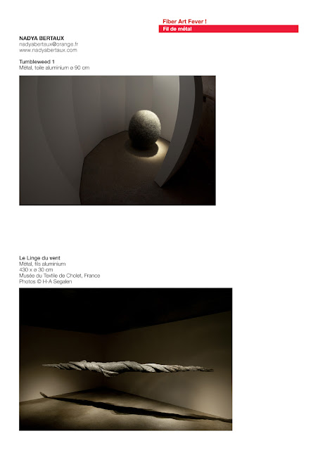 sculptures fil de métal