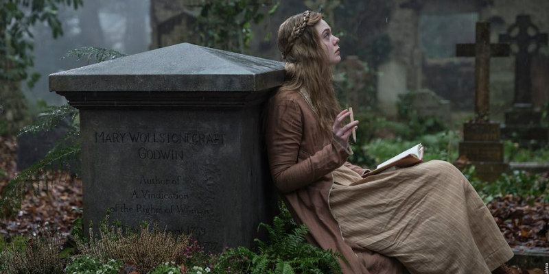 mary shelley elle fanning