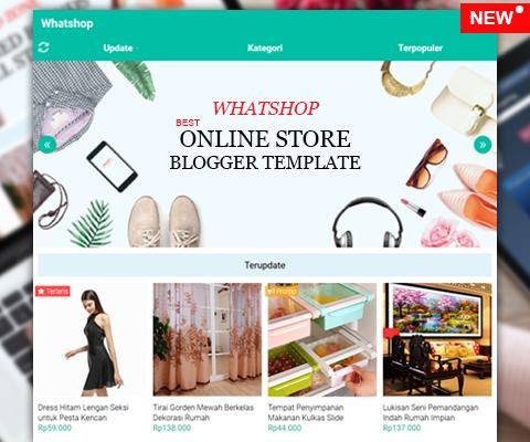 Whatshop - Tema WhatsApp Toko Online Store Blogger Template