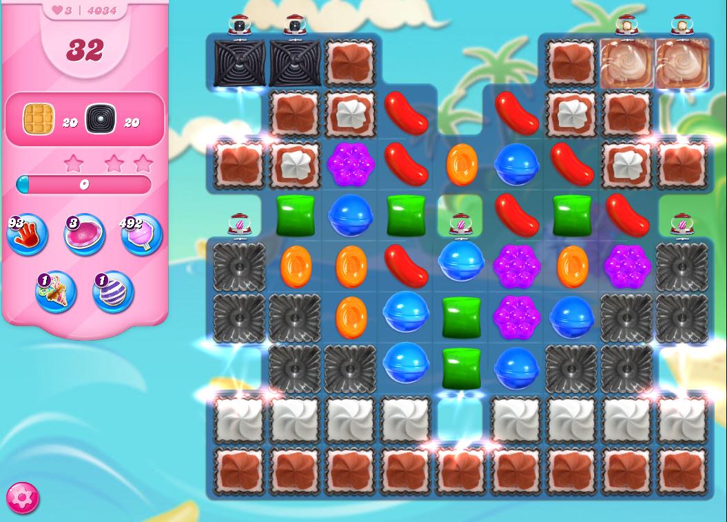 Candy Crush Saga level 4034