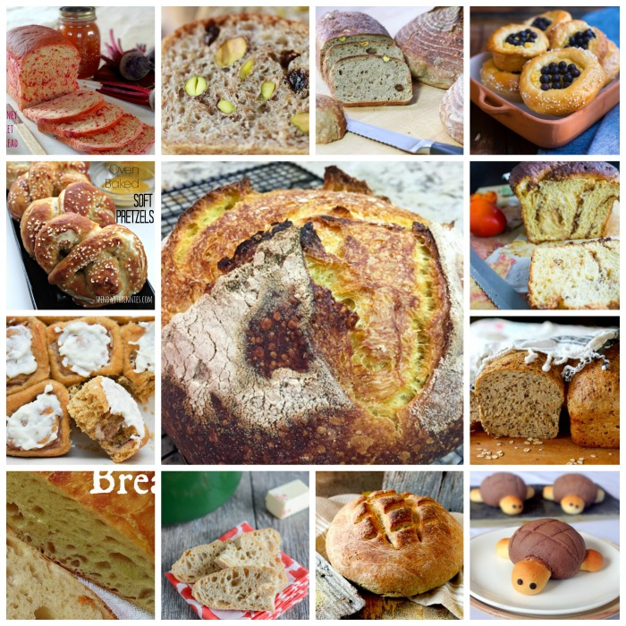 The Bread Box Round Up - Breads from your favorite bloggers