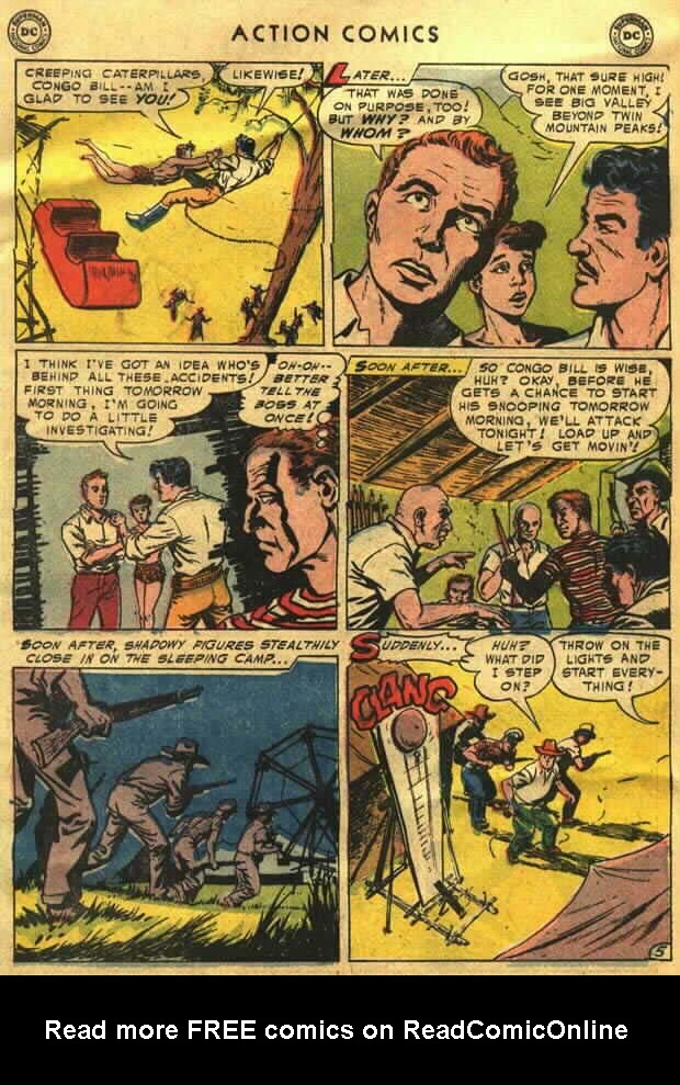 Read online Action Comics (1938) comic -  Issue #202 - 31